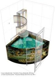 Раскладная аэромассажная ванна – новый потребительский товар